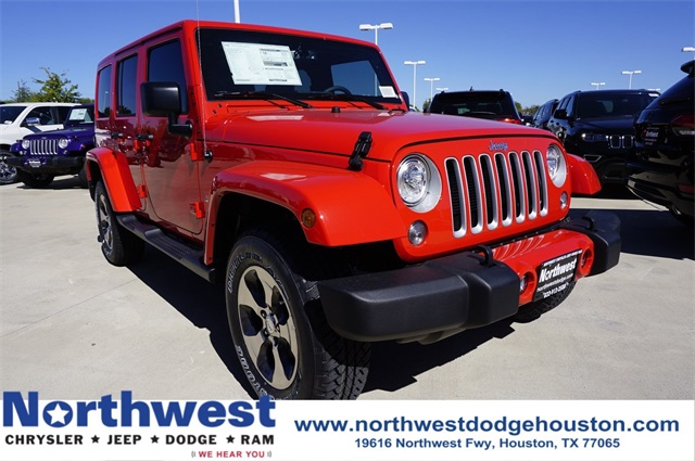 New 2018 Jeep Wrangler Unlimited Sahara 4D Sport Utility in