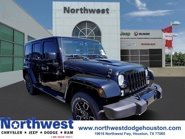 New 2018 JEEP Wrangler Unlimited Altitude