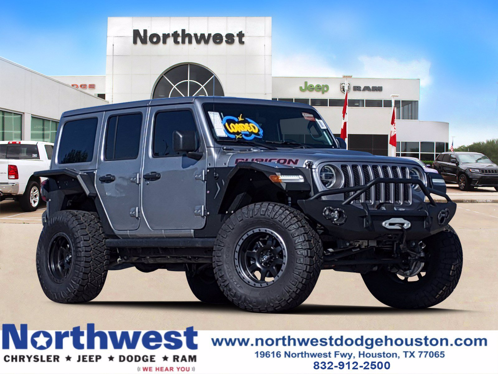 New 2019 Jeep Wrangler Rubicon Sport Utility In Houston Dt546963