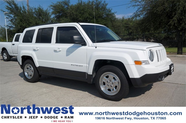 New 2017 Jeep Patriot Sport Suv In Houston Cl130908 Northwest
