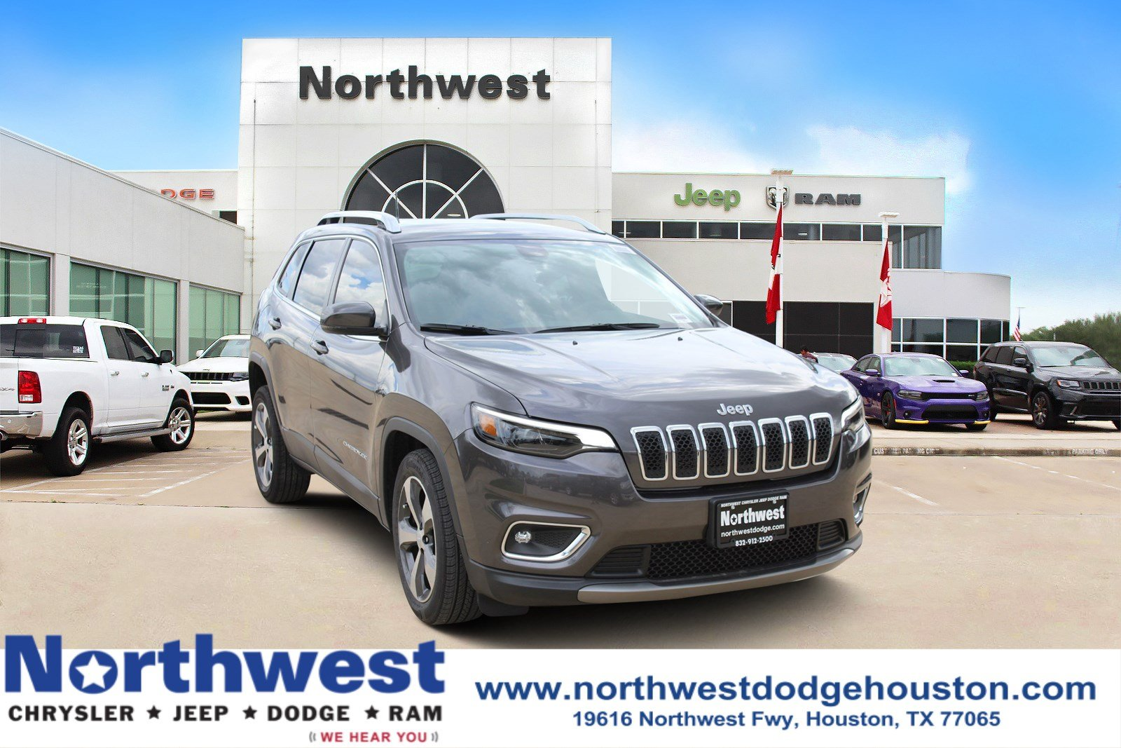 Beautiful New 2019 JEEP Cherokee Limited
