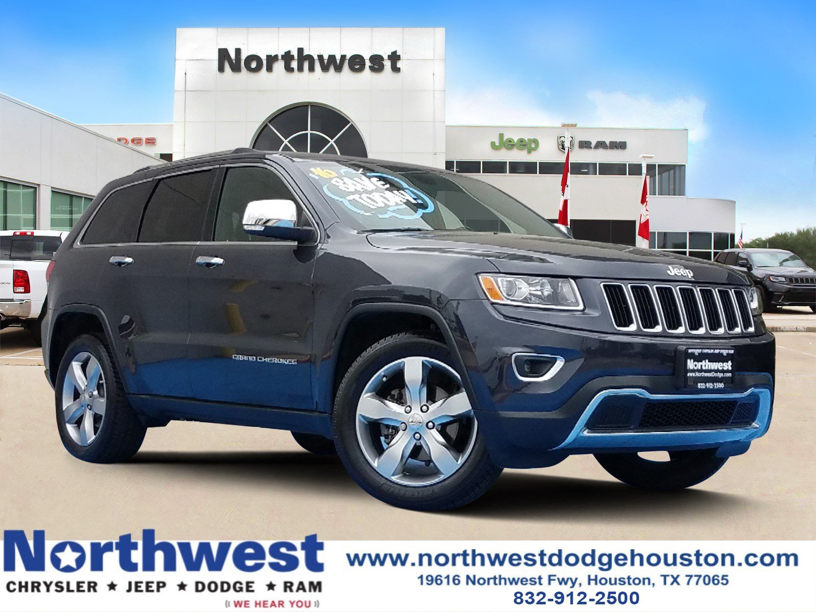 Pre Owned 2016 Jeep Grand Cherokee Limited Sport Utility In Houston Tc369251 Northwest Chrysler Dodge Ram