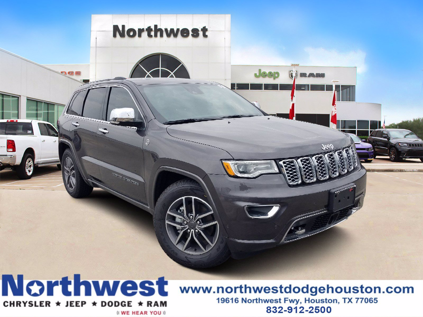 New 2020 Jeep Grand Cherokee Overland Sport Utility In Houston