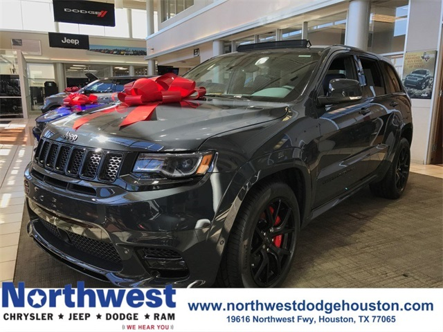 new 2018 jeep grand cherokee srt sport utility in houston jc174716 northwest chrysler jeep. Black Bedroom Furniture Sets. Home Design Ideas