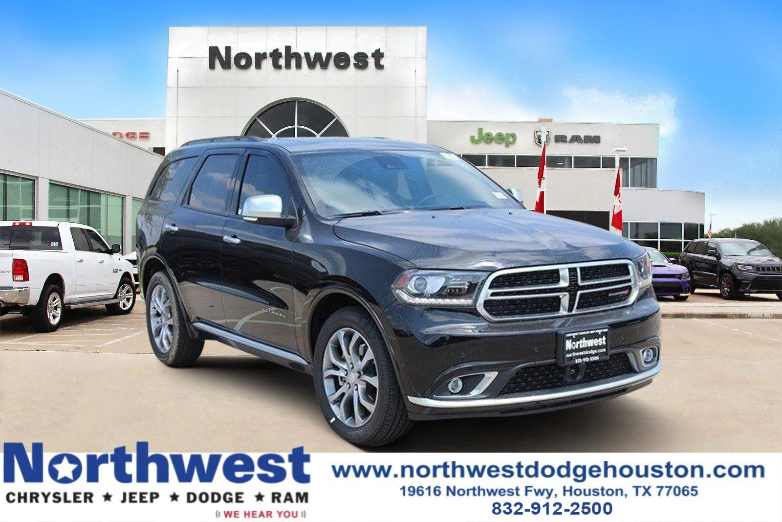 New 2018 DODGE Durango Citadel Anodized Platinum