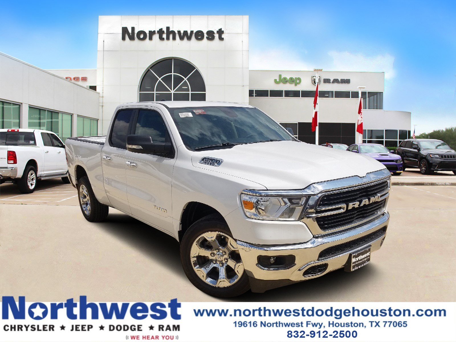 All New Dodge Ram Truck 2019 >> New 2019 Ram 1500 Big Horn Lone Star Quad Cab 4x2 6 4 Box