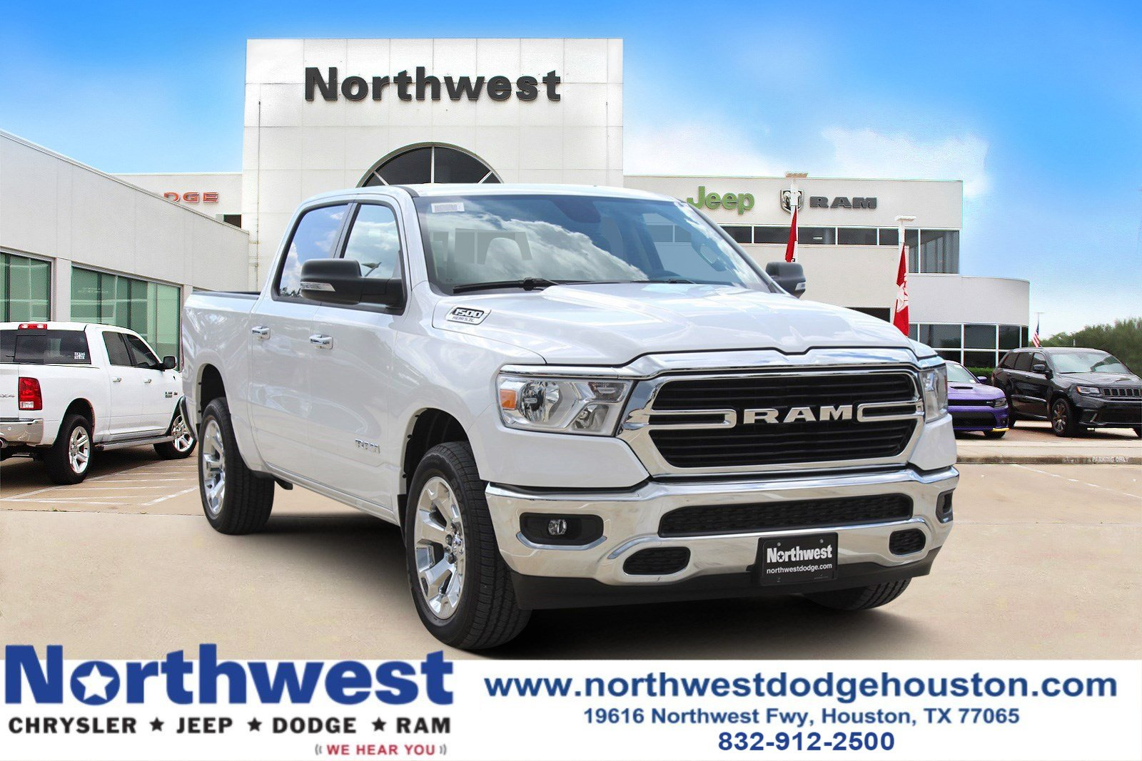 New 2019 Ram All New 1500 Big Horn Lone Star Crew Cab In Houston