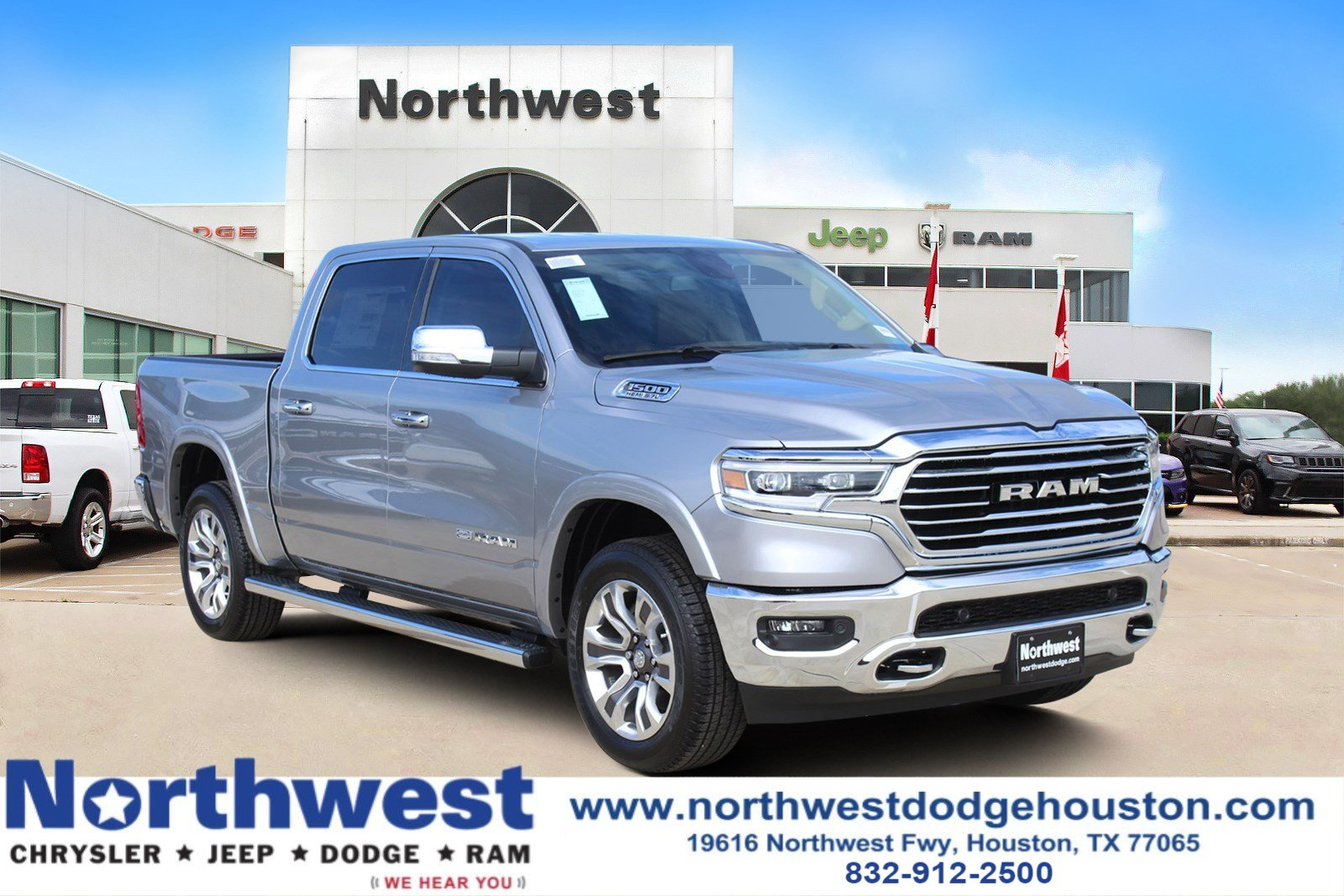 new 2019 ram all new 1500 longhorn crew cab in houston. Black Bedroom Furniture Sets. Home Design Ideas