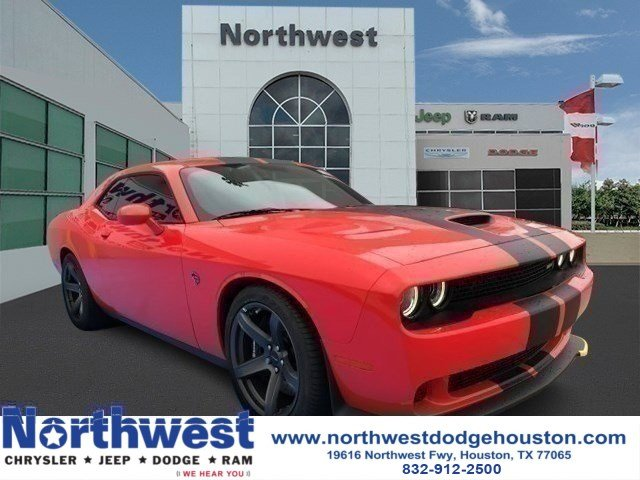 New 2018 Dodge Challenger Srt Hellcat Coupe In Houston Jh218670
