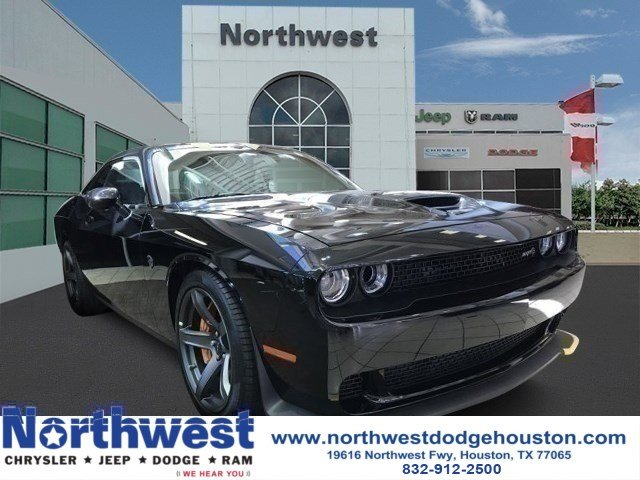 New 2018 Dodge Challenger Srt Hellcat Coupe In Houston Jh171254