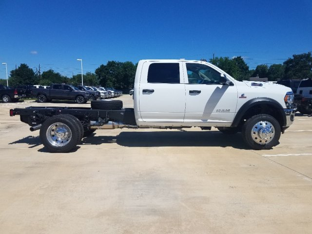 NEW 2019 RAM 5500 TRADESMAN CHASSIS CREW CAB 4X4 173 4