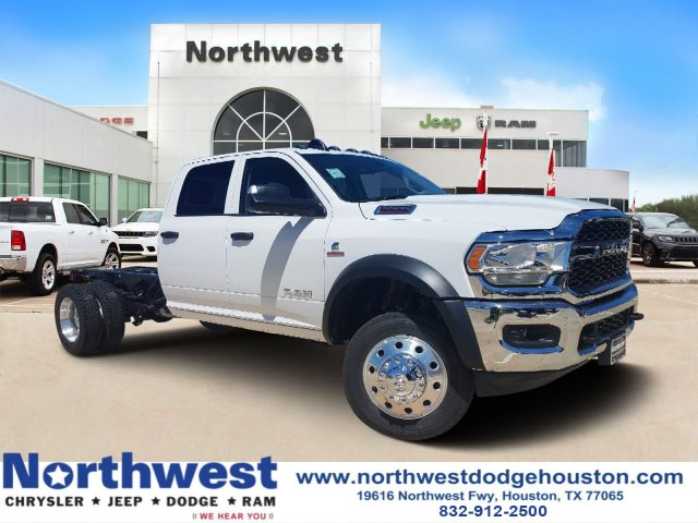 Dodge Ram 5500 >> New 2019 Ram 5500 Chassis Cab Tradesman Crew Cab In Houston