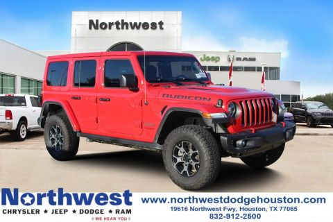 New 2018 JEEP Wrangler Rubicon